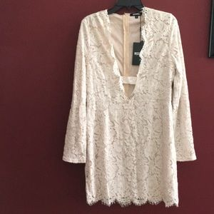 NWT Missguided size 14/16 lace dress
